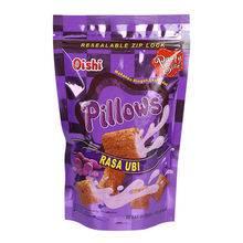 印度尼西亚进口上好佳 紫薯味夹心脆120g/袋 休闲膨化零食【进口】