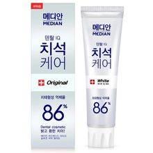 【韩国馆】韩国爱茉莉 白色款麦迪安 86%美白牙膏 清新口气