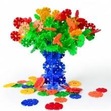 雪花片 DIY拼装插积木婴幼儿童益智早教玩具幼儿园桌面玩具