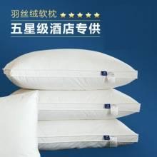 爆款立体边棉枕芯 全棉可水洗 五星级酒店舒适床品带回家
